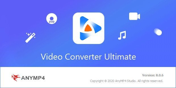 AnyMP4 Video Converter Ultimate 8.1.8 With Crack [Latest]